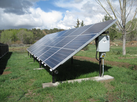 6kw Ground Mount Solar Installation Kit 6000 Watt Solar