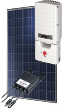 Load image into Gallery viewer, 5000 Watt (5kW) DIY Solar Install Kit w/SolarEdge Inverter