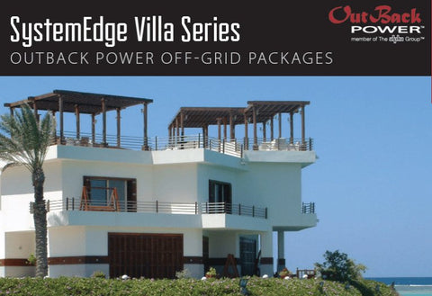 SystemEdge Off-Grid Villa Series - SE-850NC (26.4kWh), SE14130RE (64.8kWh)