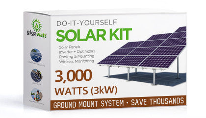 3kw Solar Panel Installation Kit 3000 Watt Solar Pv