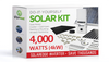 4160 Watt (4kW) DIY Solar Install Kit w/SolarEdge Inverter