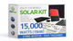 15000 Watt (15kW) DIY Solar Panel Kit w/String Inverter