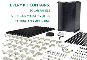 Solar Panel Kits Amp Diy Solar Power Systems For Homes