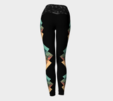 Tres Amigos Neutral Yoga Leggings (10 Band Colors)
