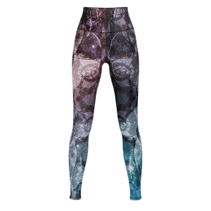 Ring Around the Rosey Yoga Leggings