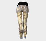 Dust Storm Yoga Leggings (Blk Band)