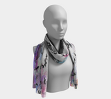 Drippin' in the City Long Scarf