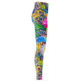 Succulent Paradise Yoga Leggings
