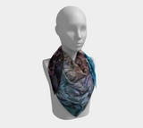 Smell the Roses Square Scarf