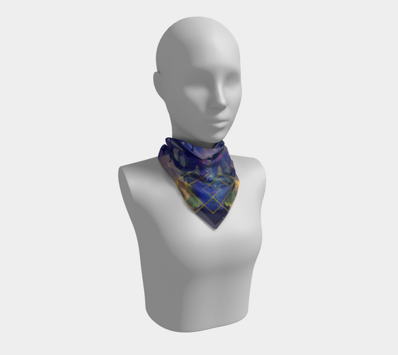 Sacred G Square Scarf