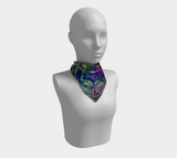 C'mon Baby, Light My Flower Square Scarf