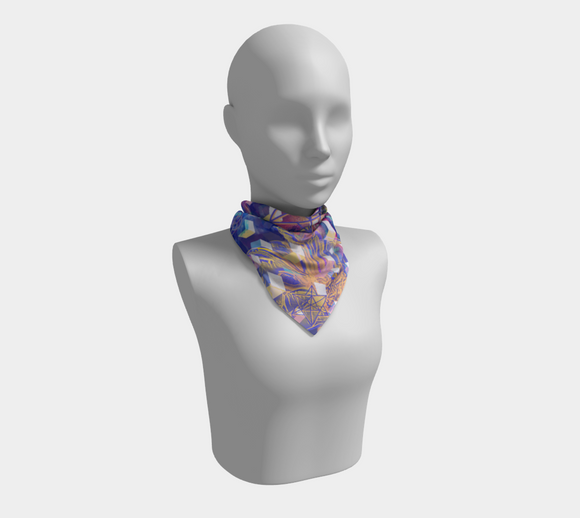 Cubic Eye Square Scarf