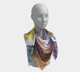 Egyptian Firelight Square Scarf