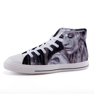 """Treegirl"" High-top Canvas Shoes"