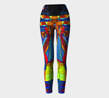 DUBmySTEP Girl DJ Yoga Leggings