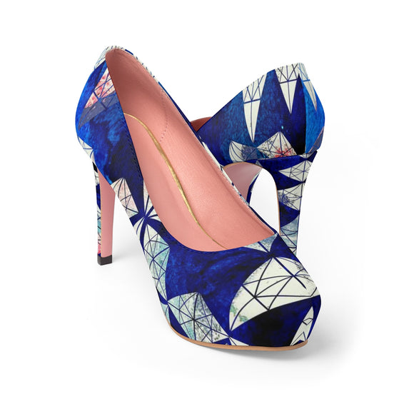 Blue Diamond's Women's Platform Heels