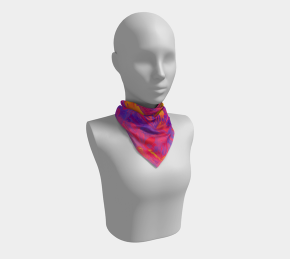 Bright Shades of Saucy Square Scarf