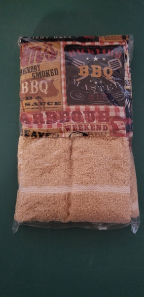 Bar B Que / Picnic Boa Towels / Kitchen Scarf