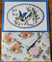 Greeting Cards - Embroidered  Approx 5 1/2 x 7 1/2