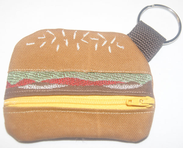 Hamburger Coin Purse