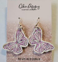 Earrings - Leather