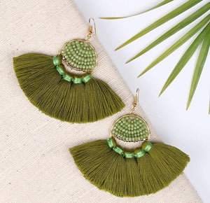 Pre-Order: Tassel Earrings