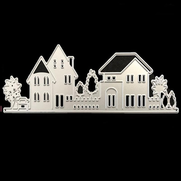 House Shape Metal Die Cuts