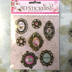 3D Gems Sticker
