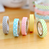 Striped Dotted Sticker Tape