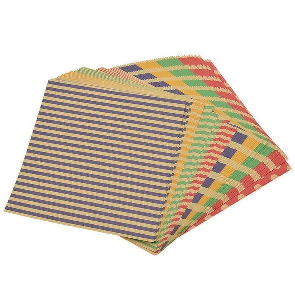 Striped Design Craft Paper