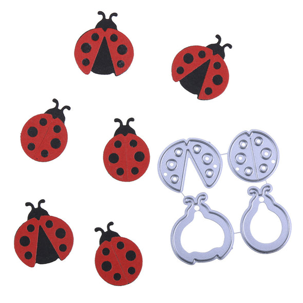Cute Ladybugs Metal Cutting Dies