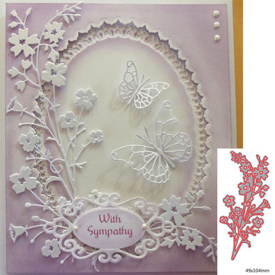 Spring Flower Metal Cutting Dies