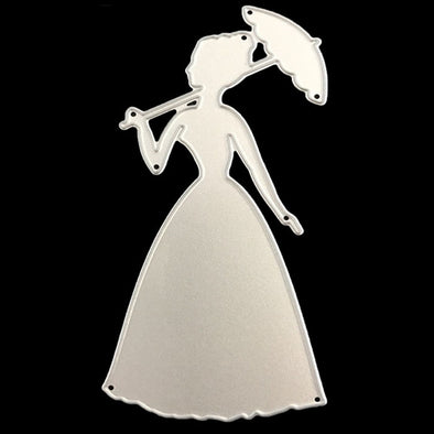 Beautiful Girl Metal Cutting Dies