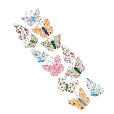 3D Butterfly Pattern Sticker