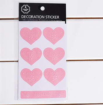 3D Seal Decorative Sticker