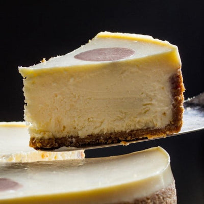 Purple Hues + Over The Moon Cheesecake