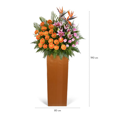 Prestigious Reputation | Opening Flower Stand