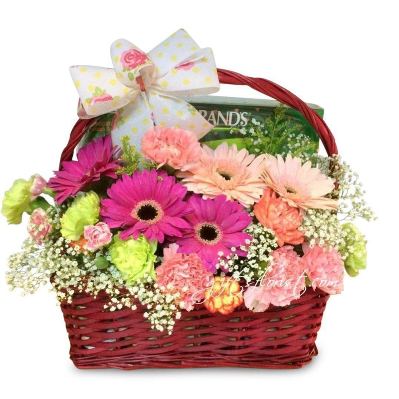 flowers_basket Get Well Soon Basket (Incl. Chicken Essence)