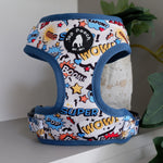 Superhero Dog Harness (size LARGE left)