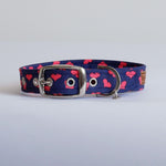 Lovehearts Dog Collar | Handmade Dog Collar