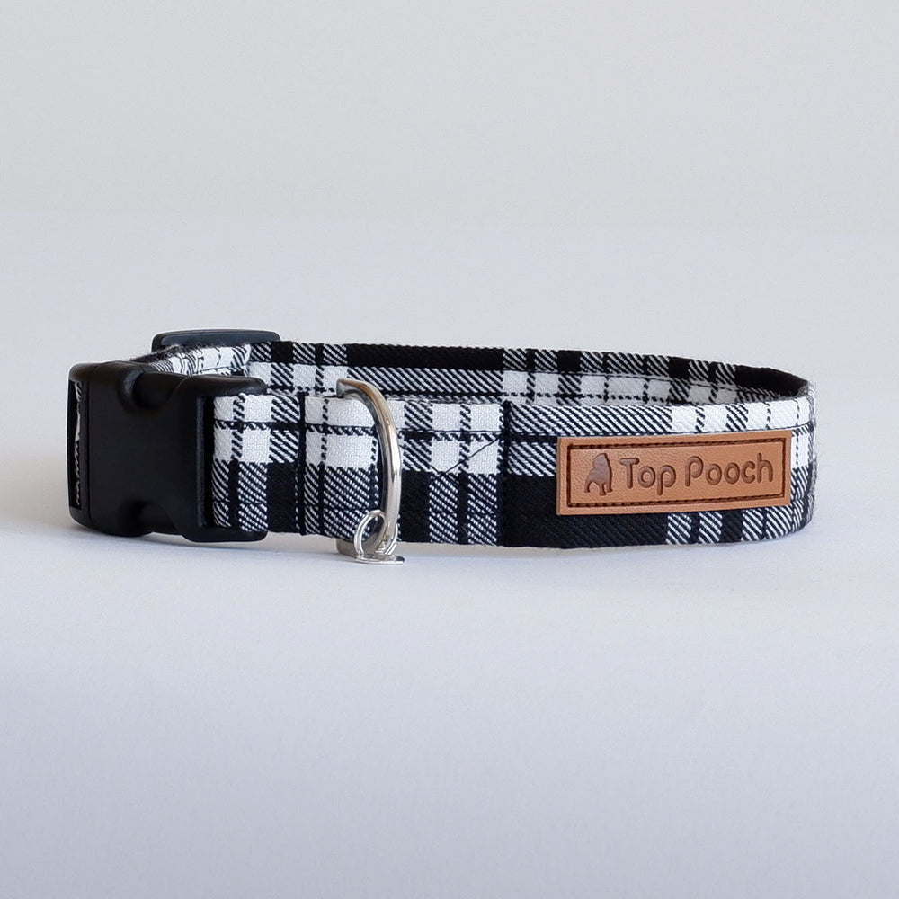 Menzies Tartan Dog Collar