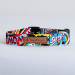 Comic Strip Dog Collar