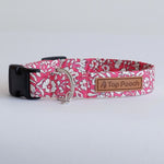 Chelsea Floral Dog Collar | Handmade Dog Collar