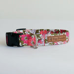 Flourish Floral Dog Collar | Handmade Dog Collar