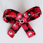 Poppies Dog Bow