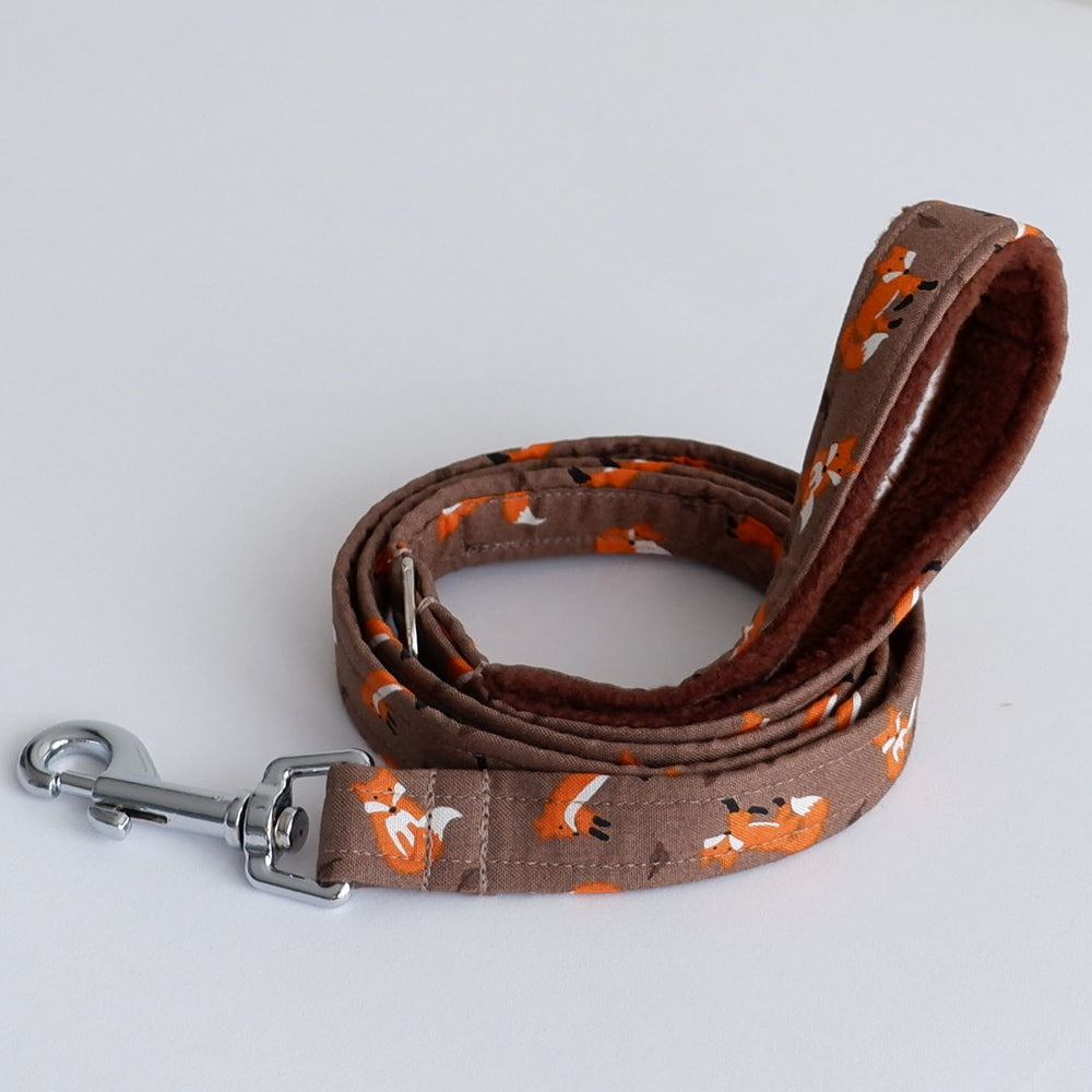 Autumn Foxes Dog Lead