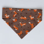 Autumn Foxes Dog Bandana