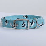 Puffins by the Sea Buckle Dog Collar