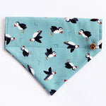 Puffins by the Sea Dog Bandana