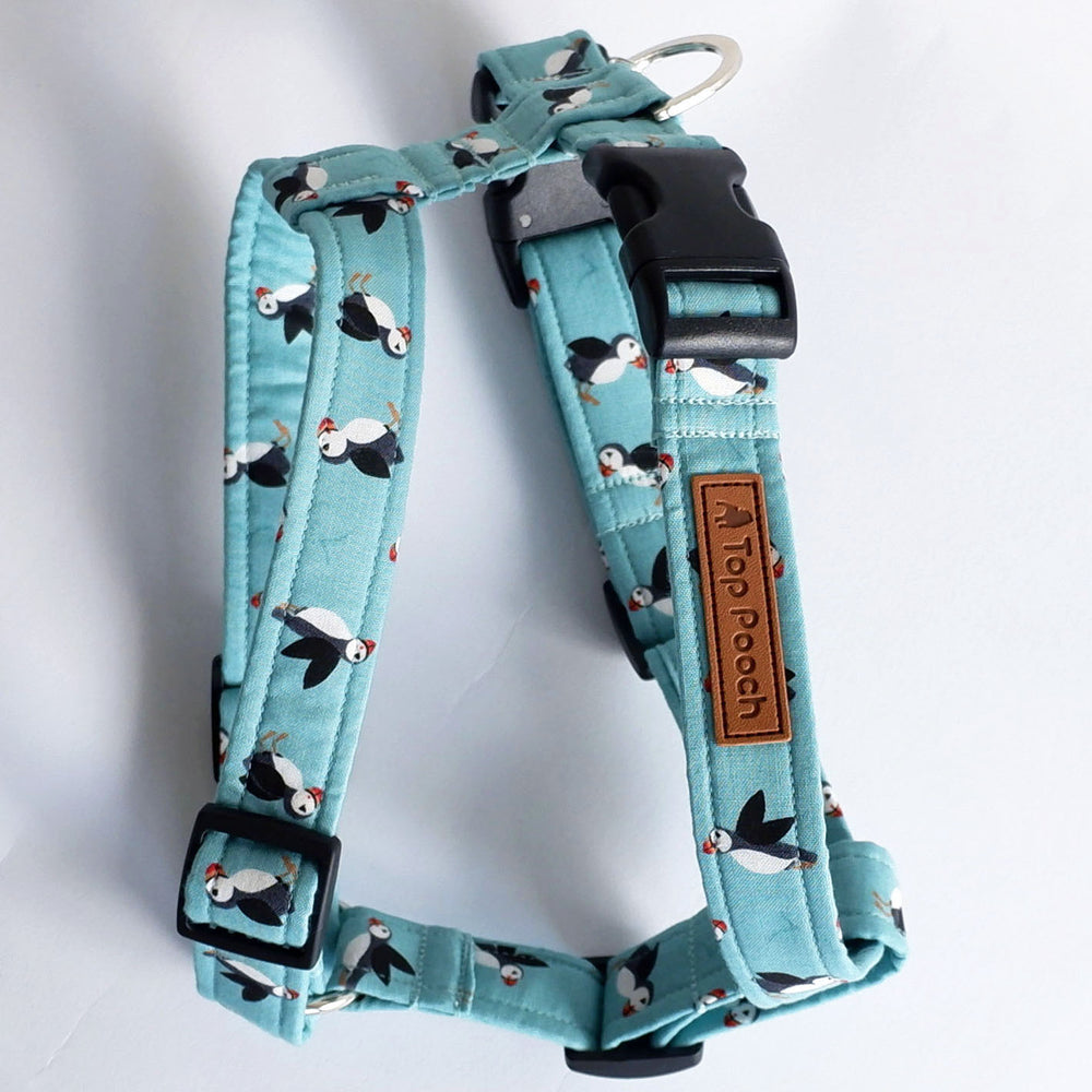 Puffins by the Sea Dog Harness